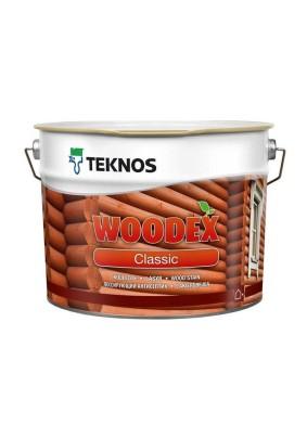Антисептик лессирующий для древесины TEKNOS WOODEX Classic/9 л/