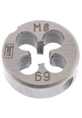 Плашка М6х1,0мм/Сибртех/77017/