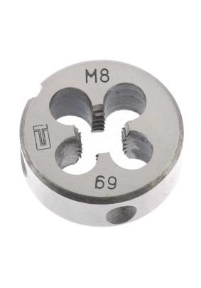 Плашка М8х1,25мм/Сибртех/77020/