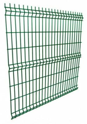 Панель ограждения 200х50х3/4мм (2.03х2.5м)/Зеленый