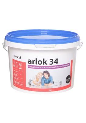 Клей для напольных покрытий 34 ARLOK /4кг/