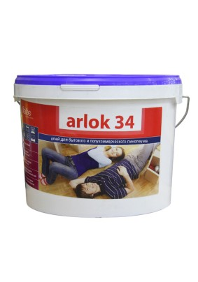 Клей для напольных покрытий 34 ARLOK /7кг/