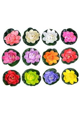 Цветок водоплав. лилия 10см/171-001/288