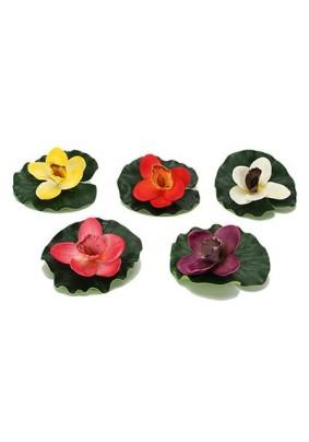 Цветок водоплав. орхидея 14см/171-015/288