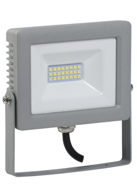 Прожектор светодиод. 20Вт IEK СДО-07-20 6500К 1600Лм IP65 сер.