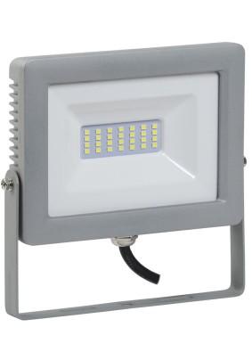Прожектор светодиод. 30Вт IEK СДО-07-30 6500К 2400Лм IP65 сер.