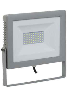Прожектор светодиод. 70Вт IEK СДО-07-70 6500К 5600Лм IP65 сер.