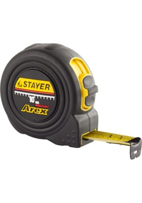 Рулетка STAYER 10мх25мм AREX/3410-10/(1/6)