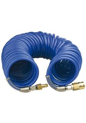 Шланг спиральный воздушный 5м 15бар 8х12мм/Fubag
