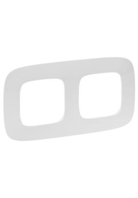 Рамка 2 Valena ALLURE/бел/Leg 754302
