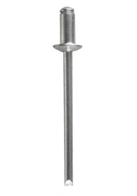 Заклепки алюм, 4,0 х  6 мм, 50 шт// MATRIX/40631/