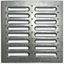 Решетка д/дождеприемника/стальная штап./280х280/0128