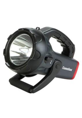 Фонарь прожектор Camelion Led 2931R2/аккум 220В/12В 1LED, 4В 4Ач