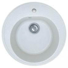 Мойка GRANFEST RONDO GF-R--480, белая , D=480 мм