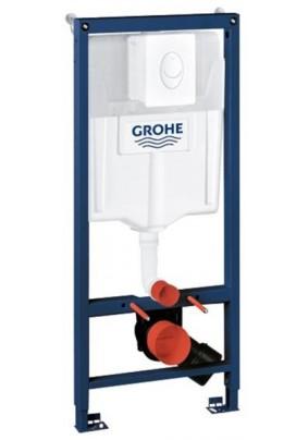 Инсталляция для подвесного унитаза с накладной панелью Skate Air, Grohe (38721)