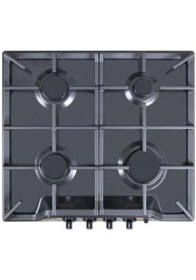 Варочная панель газовая Gefest 1212-01 К2 (черная эмаль, кнопка розжига, реш. чугун.)