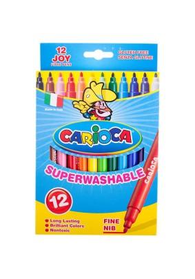 """Фломастеры """"Carioca Joy"""" /12цв./063677/"""