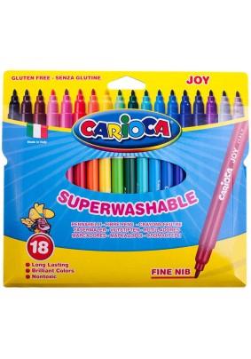 """Фломастеры """"Carioca Joy"""" /18цв./083921/"""