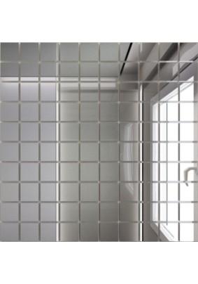 Мозаика зеркальная Серебро С25 ДСТ 25 х 25/300 x 300 мм