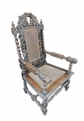 Кресло антикварное /Бельгия начало 19 века
