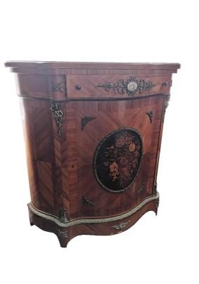 Комод антикварный Франция конец 19 века/Маркетри/инкрустация из ценных пород дерева/бронзовый декор