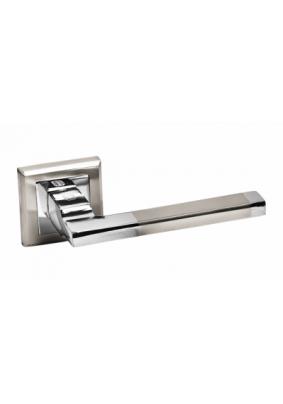 Ручка дверная Palidore А-220НН/РС белый никель/хром