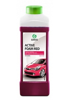 Автошампунь Grass Active Foam Red/1 л/для б/к мойки