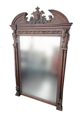 Зеркало антикварное /с короной/100*159*8 см