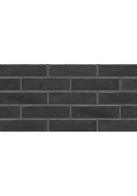 Foggia nero Плитка фасадная 24,5x6,5x8/ упак-0,6 м2