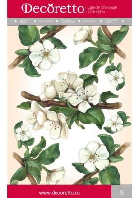 Наклейка Яблони в цвету FK 1001/Декоретто S