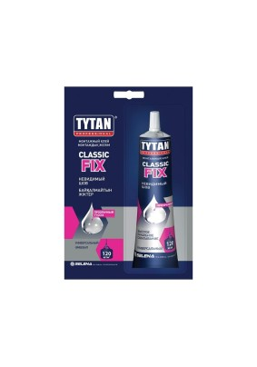 Жидкие гвозди Титан Classic Fix каучук прозр./100 мл/00038/00388/