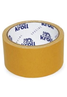 Скотч двусторонний/48 мм х 10 м/ полипропиленовая основа/Kroll Special