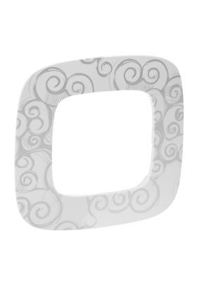 Рамка 1 Valena ALLURE/нарцисс хром/Leg 754341
