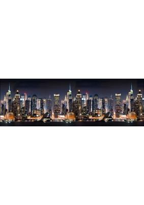 Панель ABS /2.0х0.6х0.0015м/Фартук Город/Манхэттен