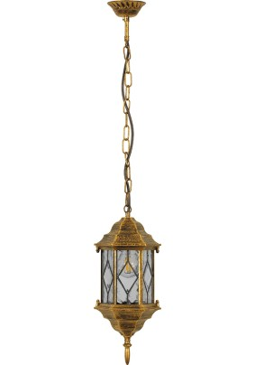 Светильник садово-парковый PL125 11347 60W 230V E27 черное золото
