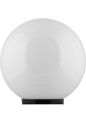 Светильник садово-парковый НТУ 01-60-301 11566 ПМАА 230V E27 d=300мм молочно-белый