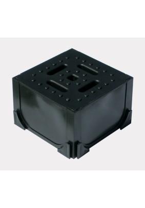 Угловой элемент с пластиковой крышкой/1103