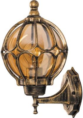 Светильник садово-парковый PL3801 11350 60W 230V E27 IP44 черное золото
