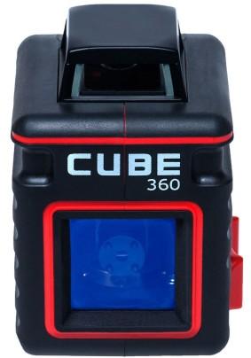 """Нивелир лазерный ADA Cube 360 Basic Edition (1 линия 360°, крест, 20м, 1/4"""") /А00443/"""