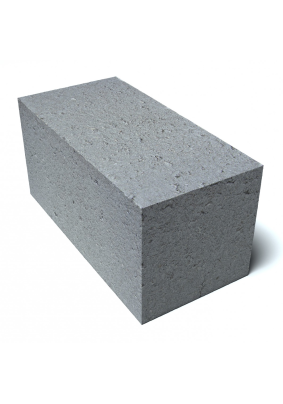 Блок фунд. бетонный полнотел. 390х190х188/М100