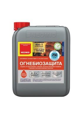 Огнебиозащитный состав NEOMID 450-1 1 группа защиты/10 кг/бесцв.