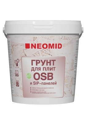 Грунт  NEOMID для плит OSB 7 кг