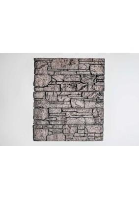 Аппалачи черно-коричневый Плитка гипсоцементная 9,5х39,5х1,5 /кратно уп=1м/под=36м/