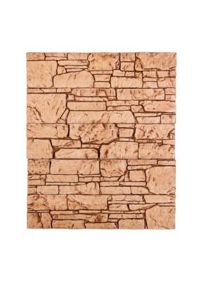 Аппалачи бежево-коричневый Плитка гипсоцементная 9,5х39,5х1,5 /кратно уп=1м/под=36м/