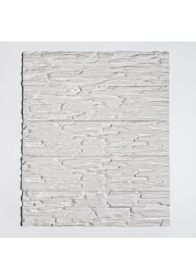 Саяны белый Плитка гипсоцементная 9,5х39,5х1,5 /кратно уп=1,15м/под=41,4м/