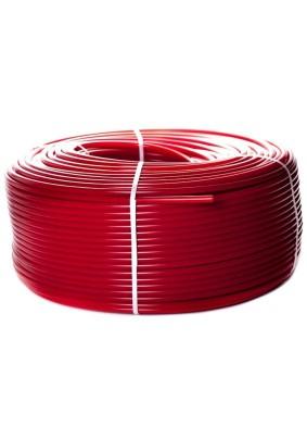 """Труба из сшитого полиэтилена для т.п. PEX-a EVOH 20х2.0 """"STOUT"""" красная (100м)"""