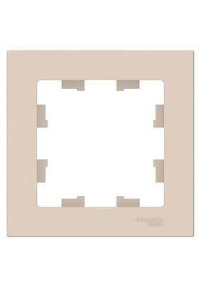 Рамка 1 ATLAS DESIGN беж. ATN000201