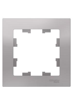 Рамка 1 ATLAS DESIGN алюм. ATN000301