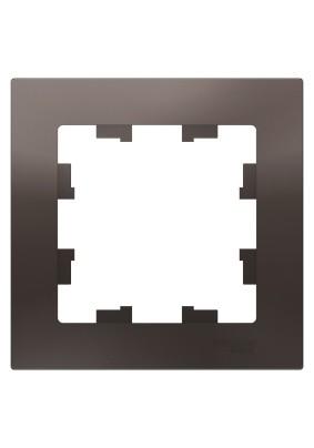 Рамка 1 ATLAS DESIGN мокко ATN000601