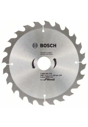 Диск пильный по дереву 190х30х24Т/Bosch/